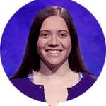 Sarah Walsh on Jeopardy!