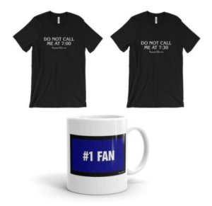 Products available at The Jeopardy! Fan Online Store, including the #1 Fan mug.