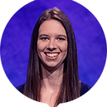 Emily Lewis on Jeopardy!