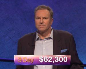 Jeffrey Schwarz, today's Jeopardy! winner (for the May 31, 2018 game.)