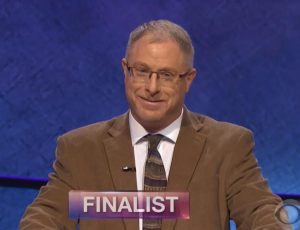 Steve Mond, today's Jeopardy! winner (for the May 14, 2018 episode.)