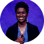 Erika Eason on Jeopardy!
