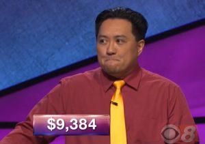 Joe Castro, today's Jeopardy! winner (for the June 5, 2018 episode.)