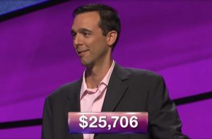 Adam Francois Watkins, today's Jeopardy! winner (for the October 5, 2018 game.)