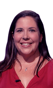 Sara Butner on Jeopardy!