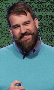 Joe Rengstorf on Jeopardy!