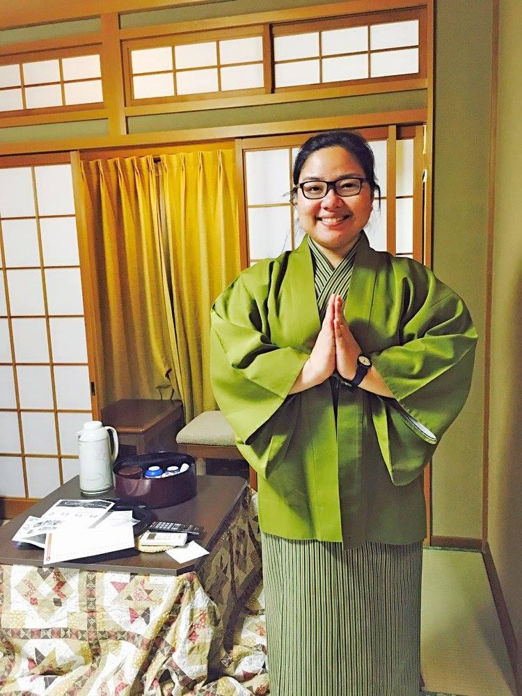 Frani in Yukata - www.thejerny.com