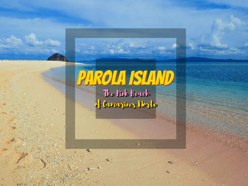 Parola Island: The Pink Beach of Camarines Norte
