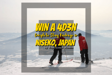 Win a 4d3n stay package in Niseko, Japan!