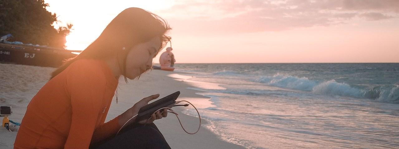 Puka Beach - Island Hopping - http://thejerny.com
