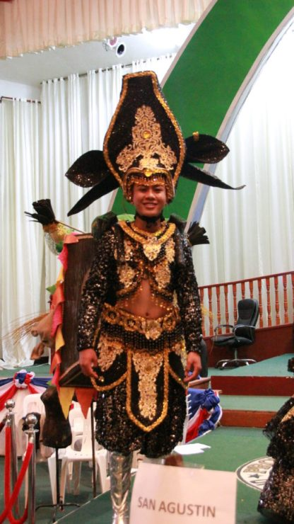 Municipality of San Agustin - Best Festival King and Queen Costume 2018