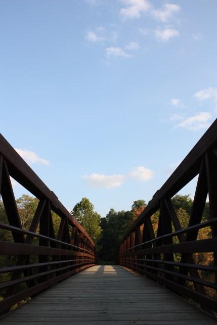 Chagrin River Park Bridge