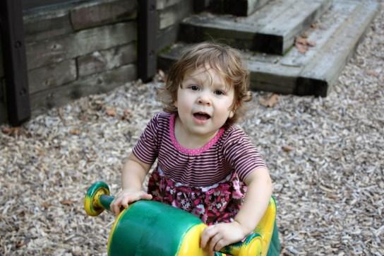 Vera at the Chagrin River Park