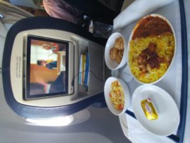 flydubai food