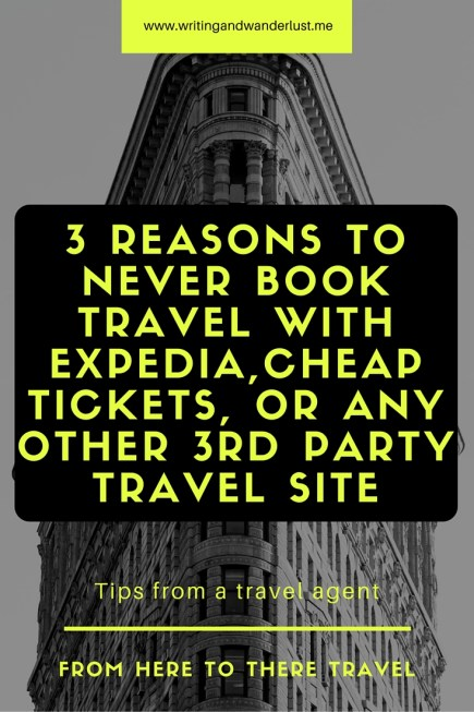 3 Reasons to Never Book Travel with EXPEDITE, trip advisor, or Cheap tickets
