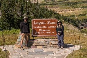 Continental Divide, Logan Pass