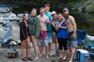 Trask River Camping Group Photo