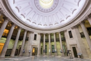 Inside Federal Hall Rotunda