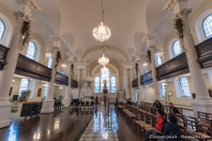 Inside St. Paul's Church