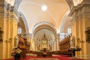 Inside Basilica Catedral de Arequipa