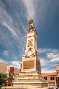 Plaza de Armas Statue, Puno