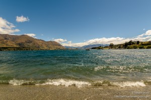 Lake Wanaka from the City of Wanaka