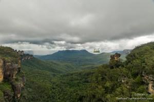Scenic World from Katoomba Cascade