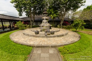 Buddah Garden Borobudur Temple