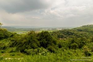 View from Ratu Boko Temple