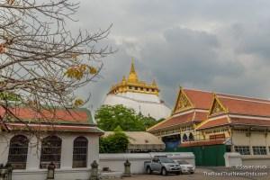 View of Wat Saket