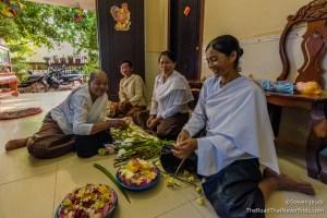 Buddah Day Monk Blessing