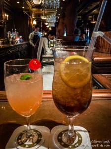 Fancy Cocktails at Teddy Roosevelt Lounge