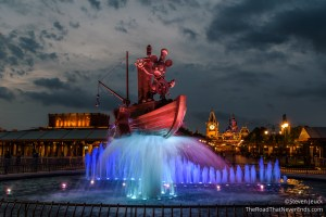 Steamboat Willie Fountain