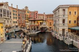 Venetian Gondolas, Mediterranean Harbor