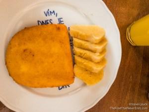 Fried Cheese at Lokál