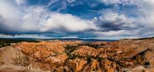 View of Bryce Amphitheater from Upper Inspiration Point