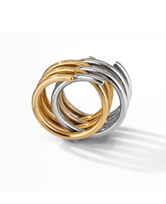 The gold and silver Spirale ring, 1971