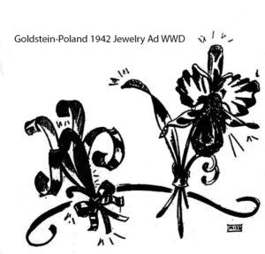 Goldstein-Poland 1942 Women's Wear Daily Advertisement