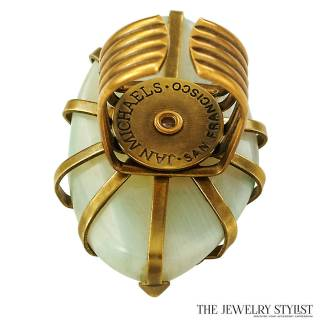 Vintage Jan Michaels Ring