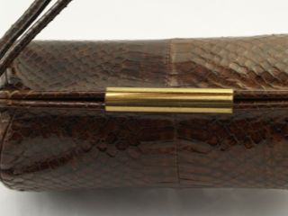 1950s Lizard Skin Purse Clasp