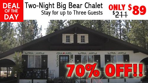 Two-Night Big Bear Chalet Stay for up to Three Guests