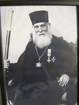 Photos: Courtesy of B'nai B'rith : Greek Rabbi Moshe Pessach who saved hundreds of Jews from the Nazis.