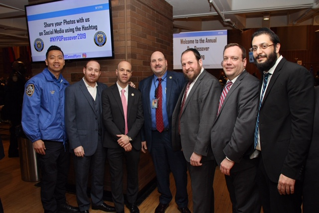 Annual NYPD Pre-Rosh Pesach Briefing at One Police Plaza - The Jewish Voice