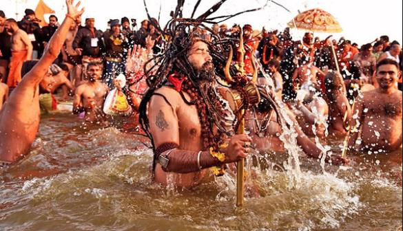 दूर, घाट कला, प्रदूषण के उपाय के साथ, हरिद्वार Covid महाकुंभ की तैयारी करता है