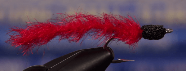 Cinder Worm Striped bass flies