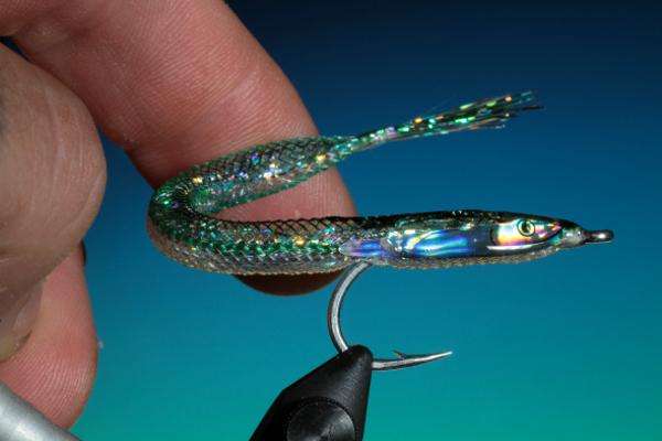 e-z sand eel holographic head