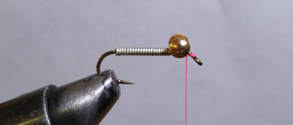 fly-fishing-hook-lead-free-wire-brass-barbell-eyes-pink-thread