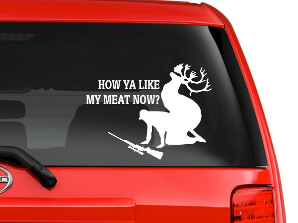14 unique and stylish fishing decals the jighead for Fishing stickers for trucks
