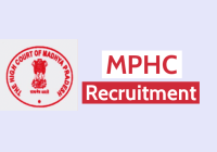 MPHC Recruitment