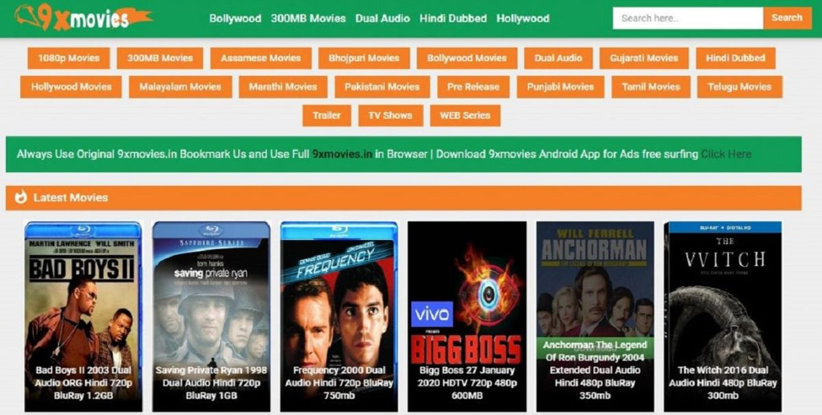 9xmovies 2020 Download 300mb Bollywood Movies And Hindi Dubbed Hollywood The Job Alert